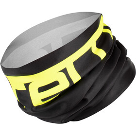 Castelli Viva Thermo 2 Head Thingy Multifunctionele Loop Sjaal, black/yellow fluo